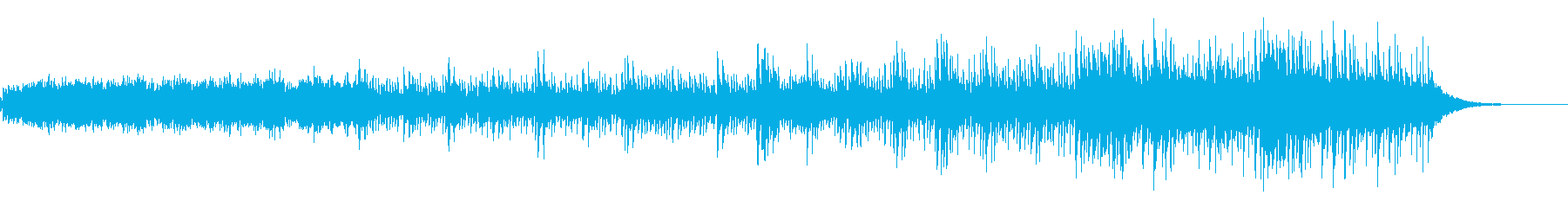 ショートBGM、シタールの再生済みの波形
