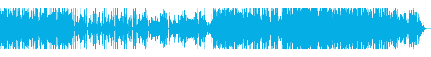 【短いVer1】スペーシーファンクの再生済みの波形