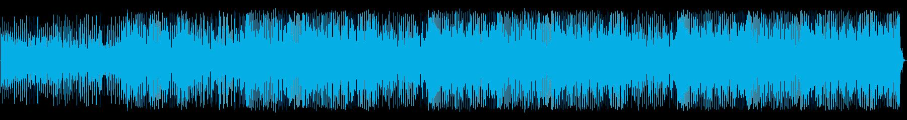 キラキラと風変わりなダンステクノト...の再生済みの波形