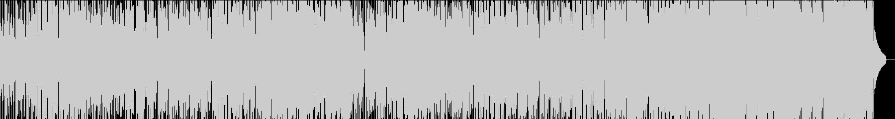 ホーン・フィーチャーのクールなチルアウトの未再生の波形