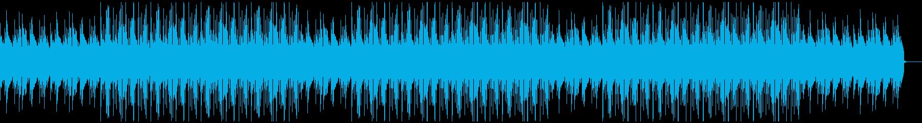 春・切ない・別れのピアノBGMの再生済みの波形