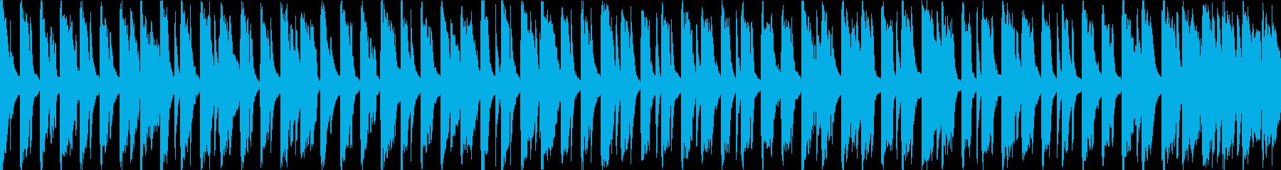 ゆる~いほのぼのかわいいソプラノリコーダの再生済みの波形