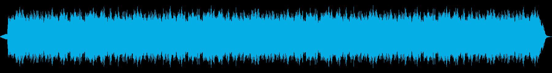 心を癒すヒーリングミュージックの再生済みの波形