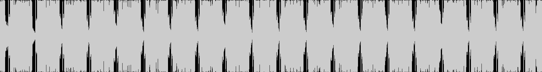 ポジティブな雰囲気のエレクトロ楽曲,2の未再生の波形