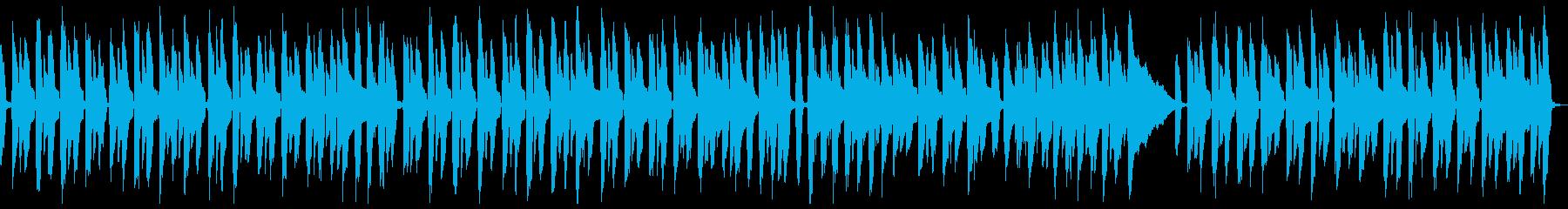わんぱく、いたずらだけど憎めないアコギ曲の再生済みの波形
