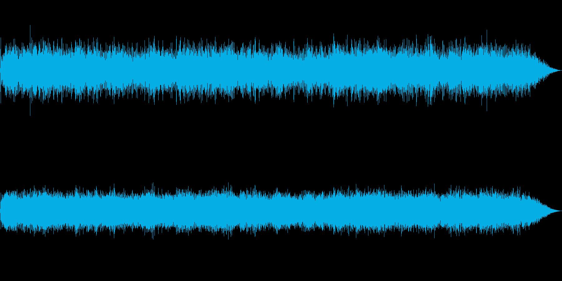 未知の物体 人工知能 無秩序な実験音楽の再生済みの波形