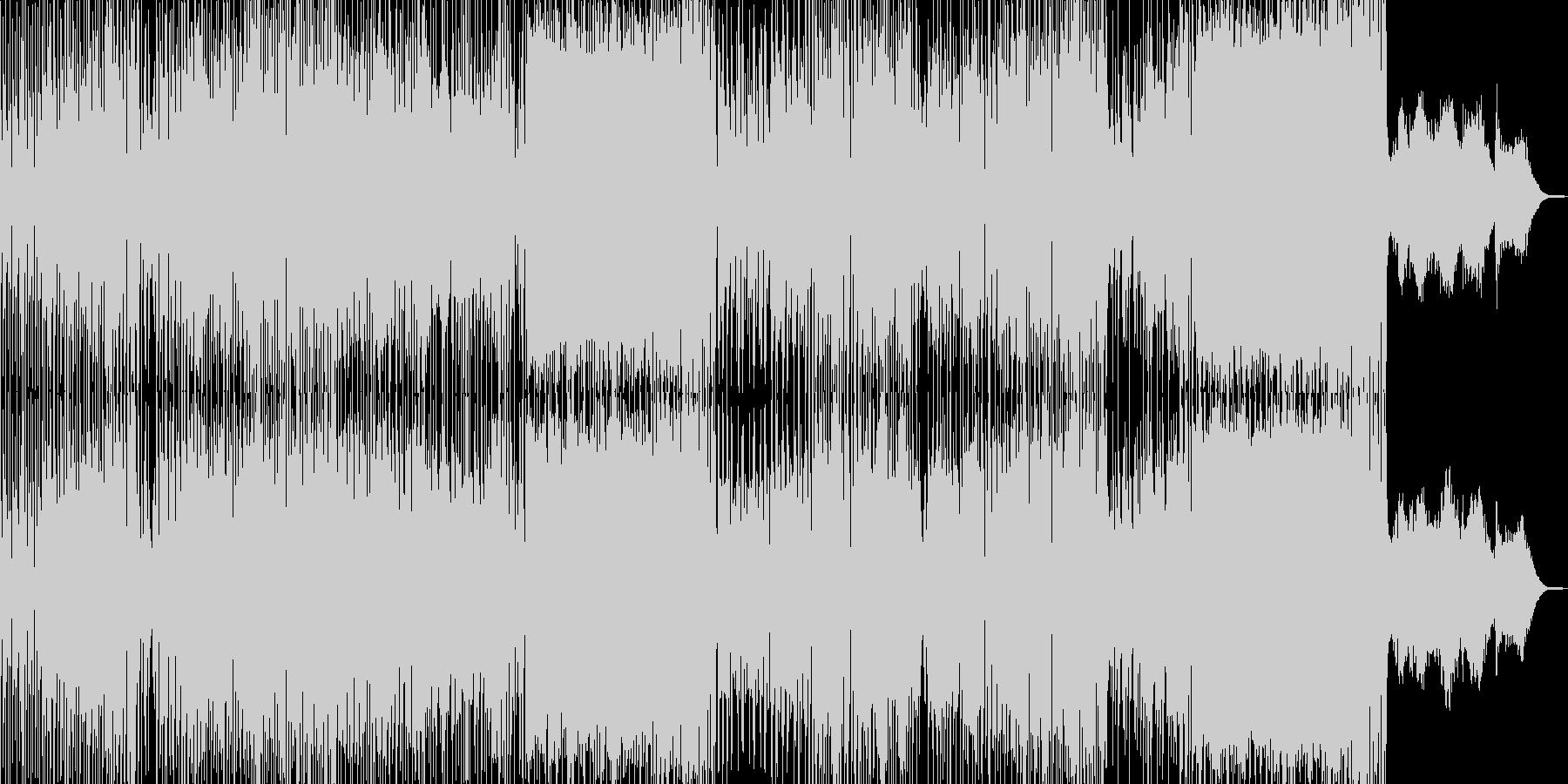 ドタバタコメディ・アニメ調ポップ A+の未再生の波形