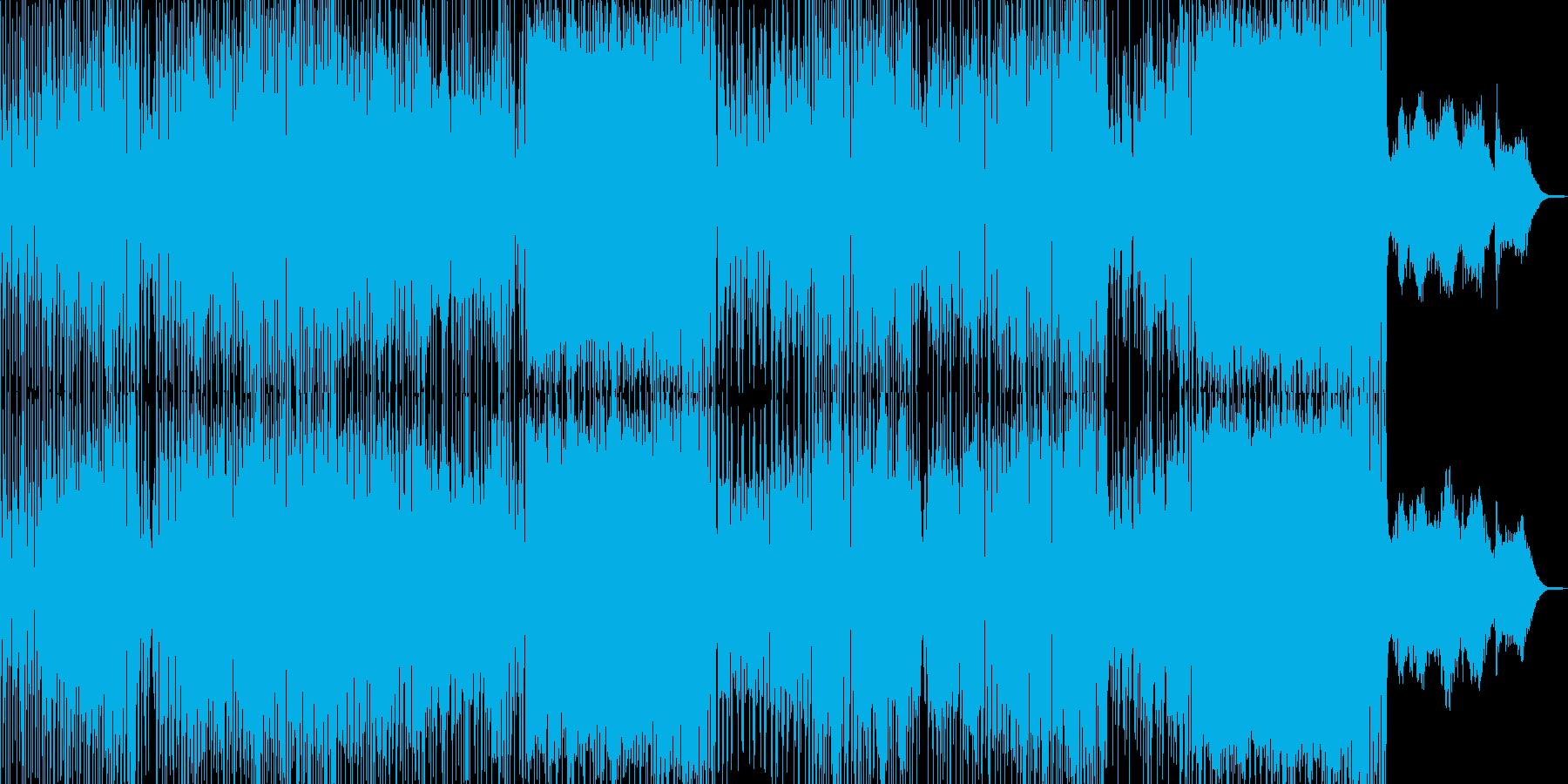 ドタバタコメディ・アニメ調ポップ A+の再生済みの波形