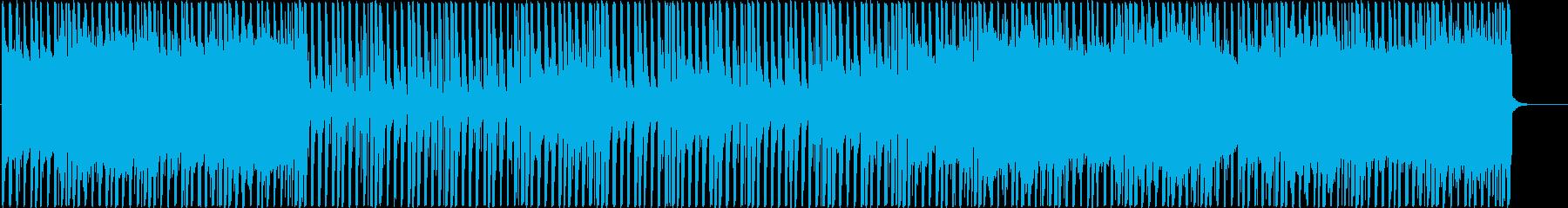 爽やかで疾走感のあるレゲエ アフロビートの再生済みの波形
