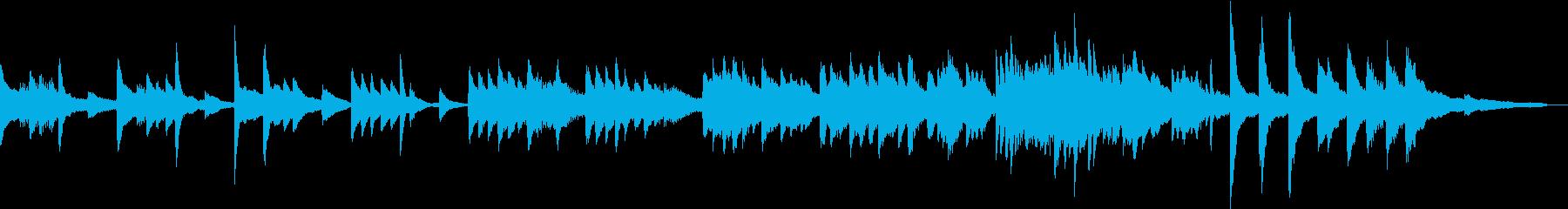 朝のラウンジに流れるようなBGMの再生済みの波形