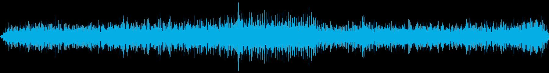 トラックディーゼルスローギアグラインドの再生済みの波形