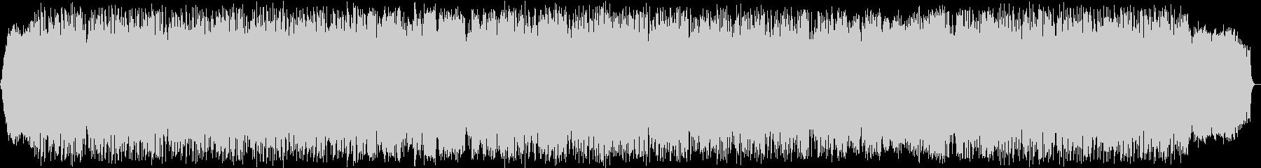 風のメロディ 竹笛のヒーリング音楽の未再生の波形