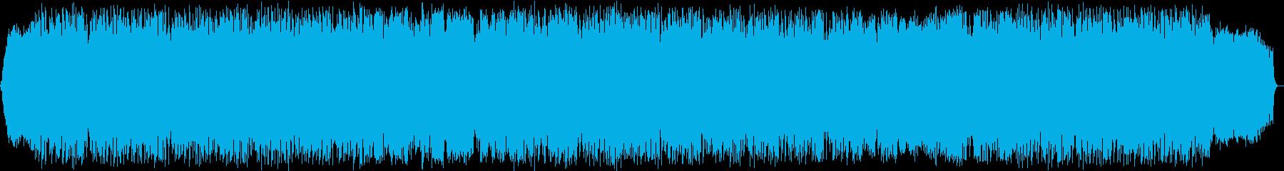 風のメロディ 竹笛のヒーリング音楽の再生済みの波形