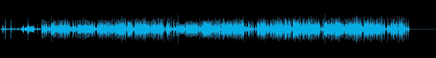 モダンエレクトリックタイプライター...の再生済みの波形