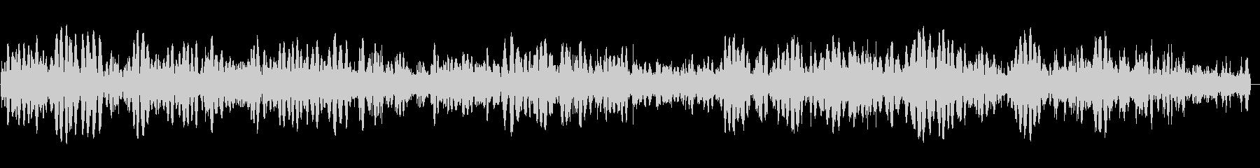 フツフツと煮る効果音の未再生の波形