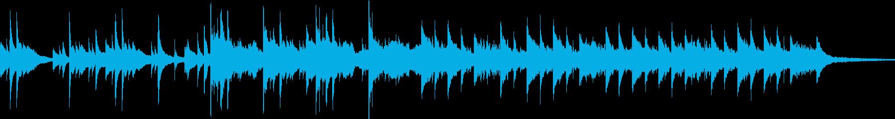 企業VPや映像/ノスタルジックなピアノSの再生済みの波形