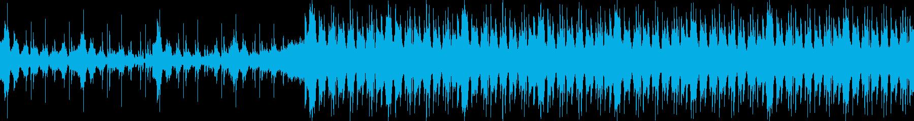VP、CM、暖かい爽やかな透明感ループの再生済みの波形