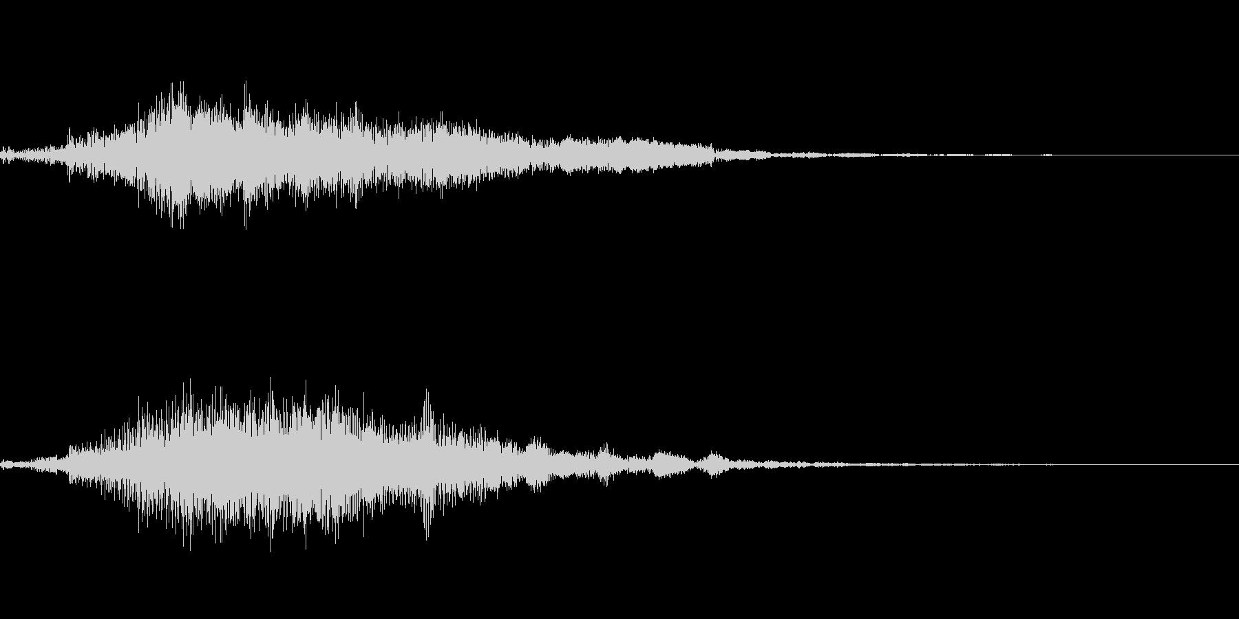 ホラー系導入音_その3の未再生の波形