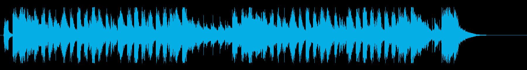 グルーヴィ&ジャジーなビッグバンドロゴ!の再生済みの波形