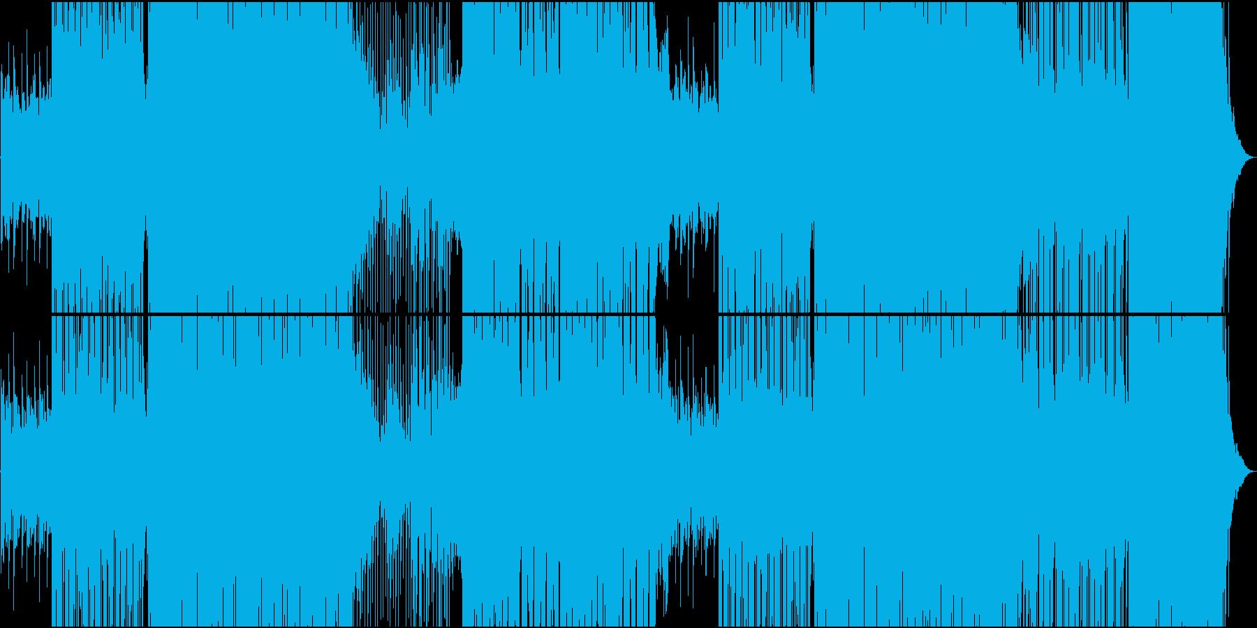 静かな和風Future Popの再生済みの波形