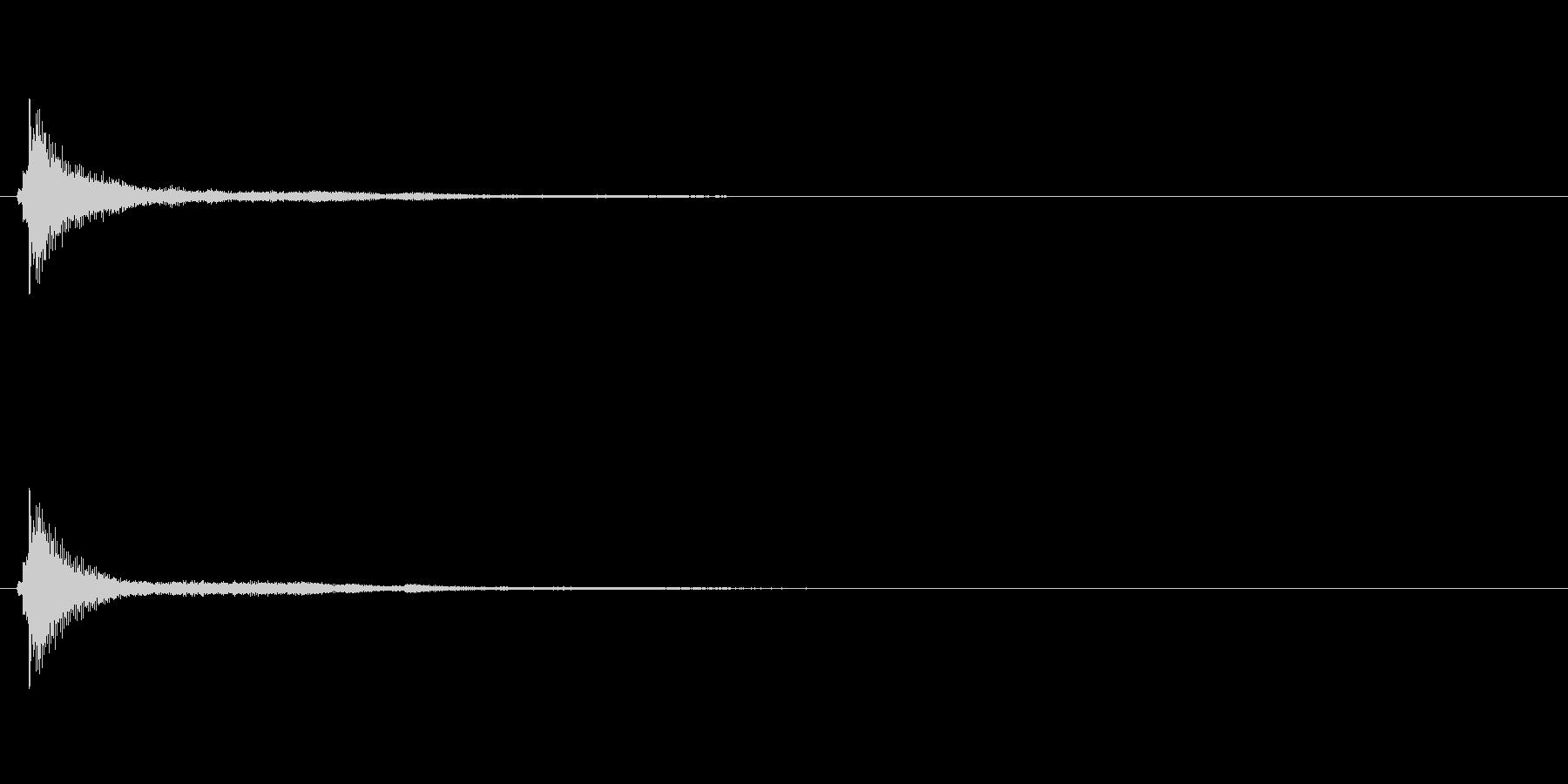 サウンドロゴ(企業ロゴ)_009の未再生の波形