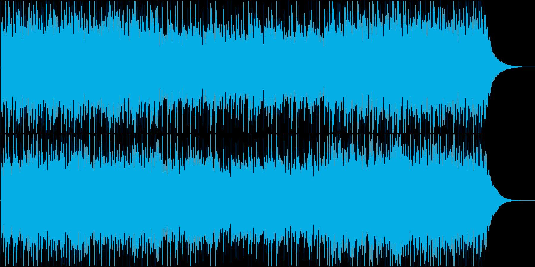 生演奏アコギ エキゾチックなアンビエントの再生済みの波形