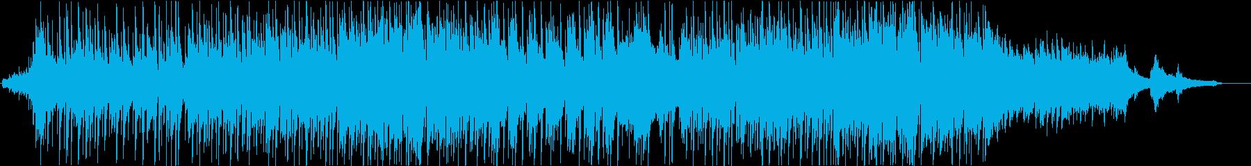 アニメ劇伴風 明るくキラキラした曲の再生済みの波形