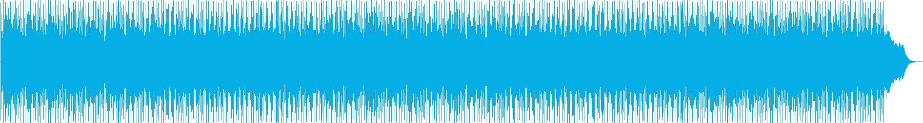 A pop song full of exhilaration's reproduced waveform