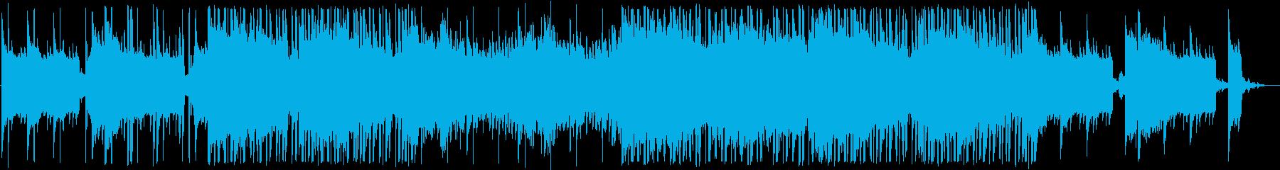 和×ダンスミュージックのクールなトラックの再生済みの波形