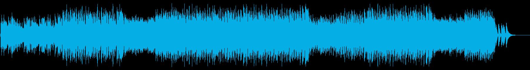 カッコカワイイ系デジロックの再生済みの波形