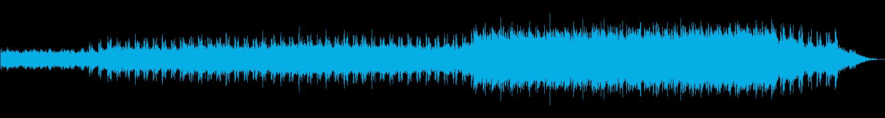 怖い音楽 ホラー ミステリー の再生済みの波形