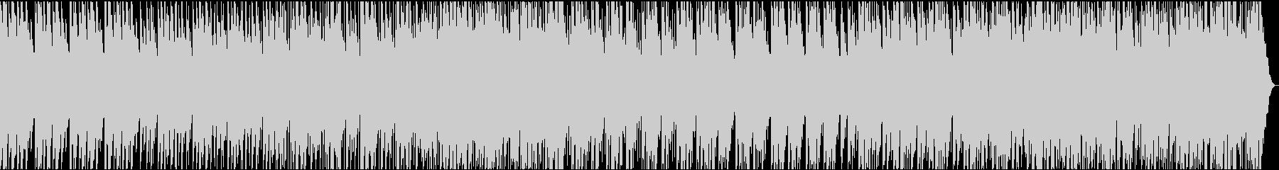日本打楽器のパーカッション曲の未再生の波形