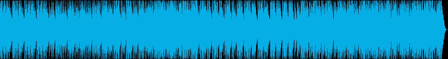 日本打楽器のパーカッション曲の再生済みの波形