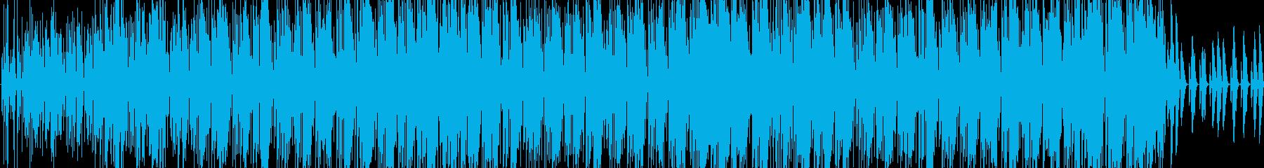 サルサ。シンプルなピアノコードとグ...の再生済みの波形