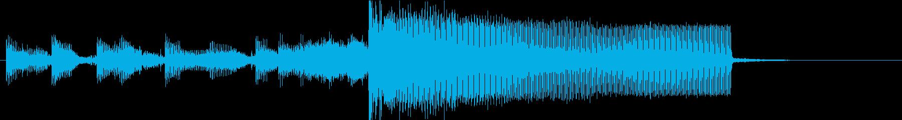 残忍なドラム、大音量のエレクトリッ...の再生済みの波形