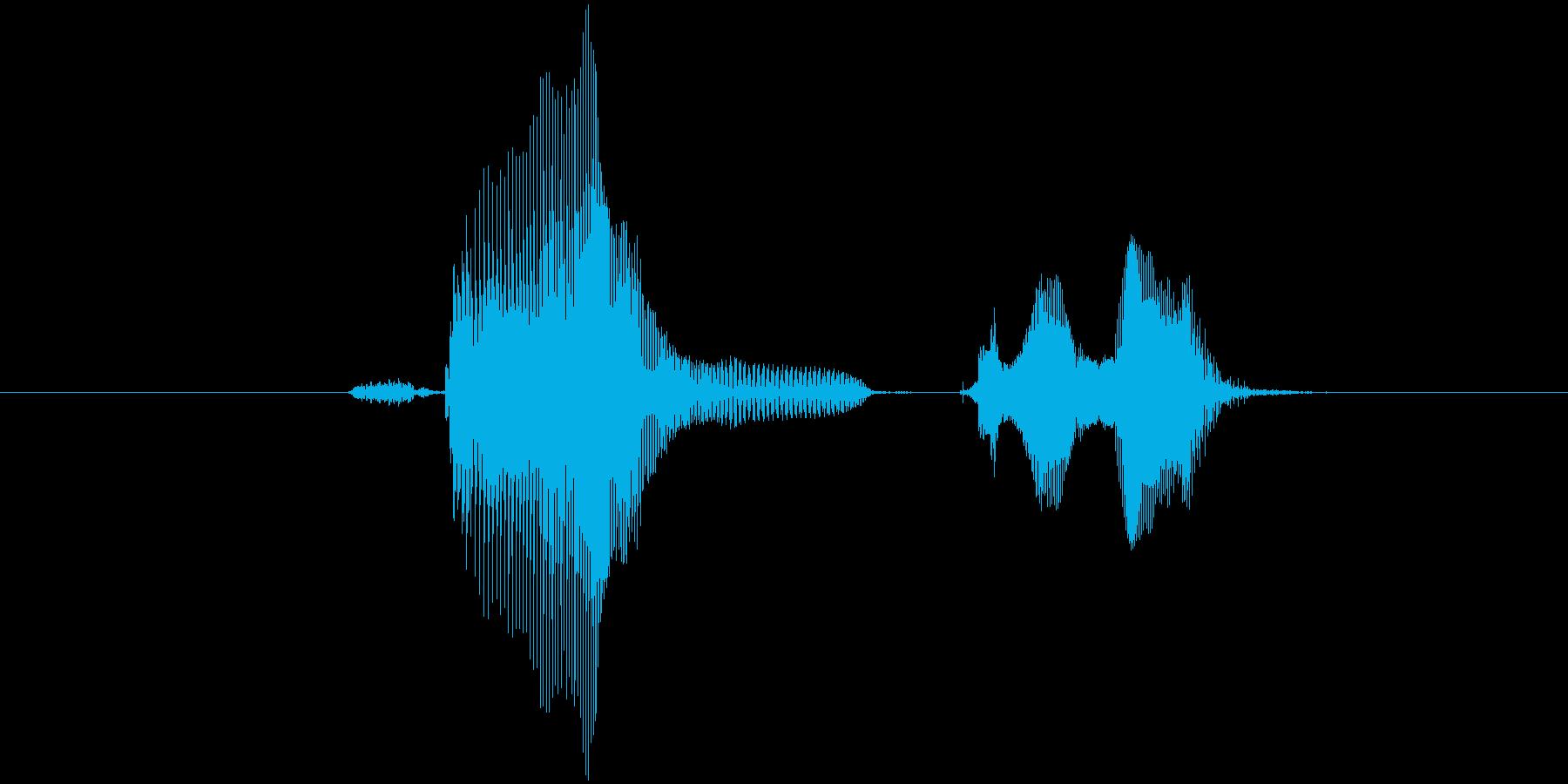 第一問の再生済みの波形