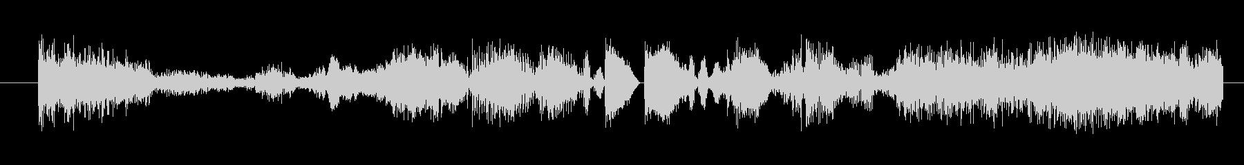 イメージ ボーカルグリッチ05の未再生の波形