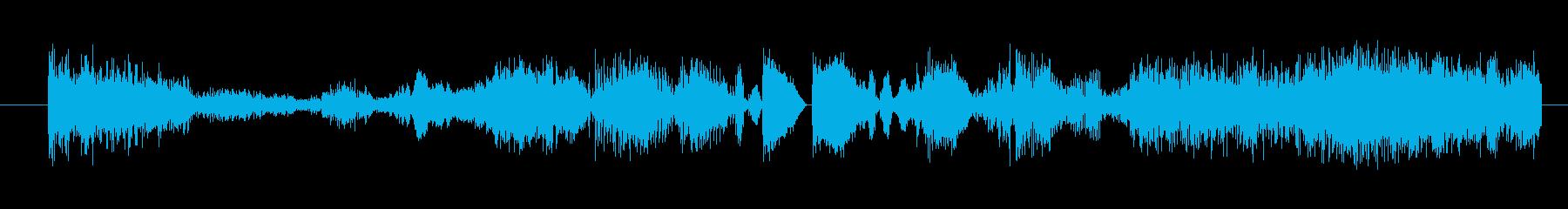 イメージ ボーカルグリッチ05の再生済みの波形