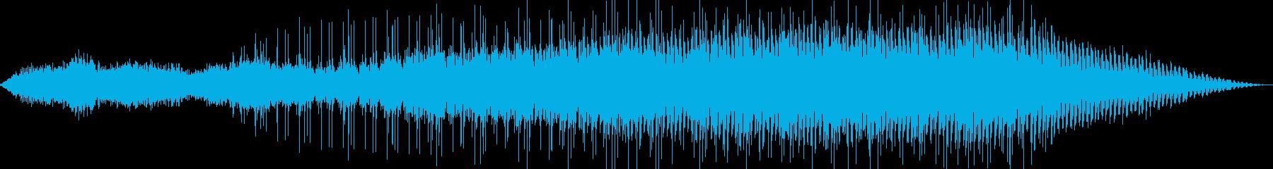 目覚めをイメージしたBGMの再生済みの波形