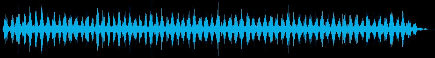 歯磨きする音 素早め(シャカシャカ…)の再生済みの波形