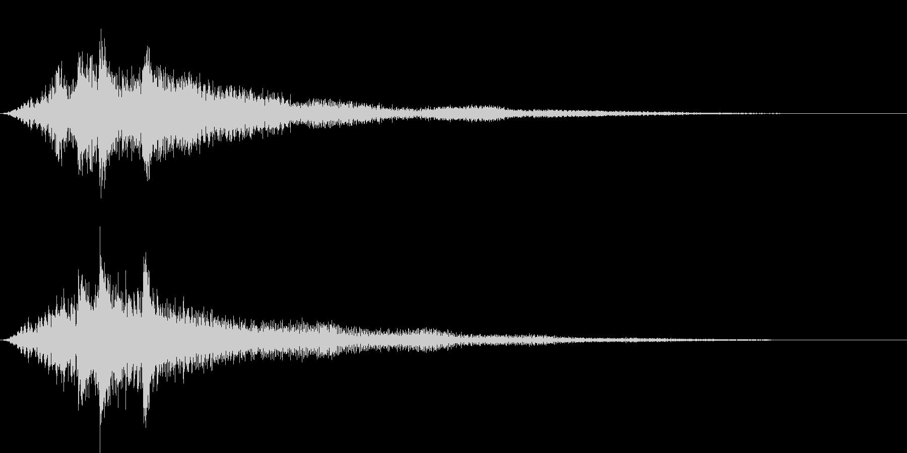 ファーン サウンドロゴ系の未再生の波形