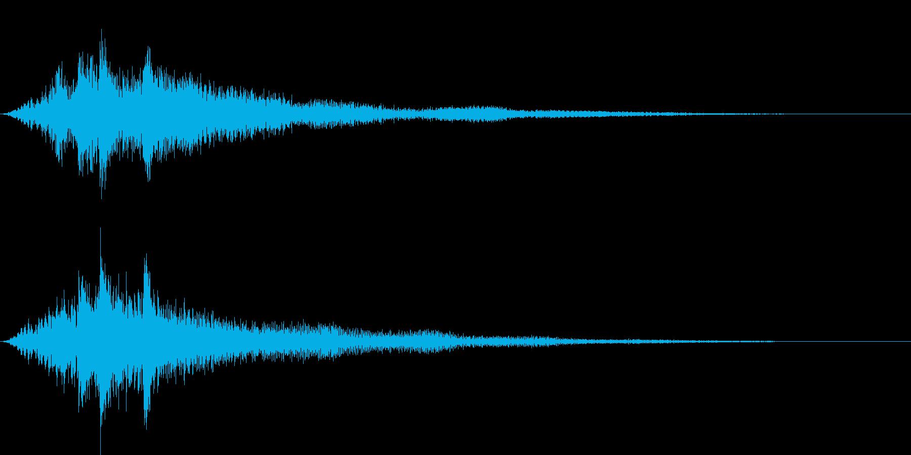 ファーン サウンドロゴ系の再生済みの波形