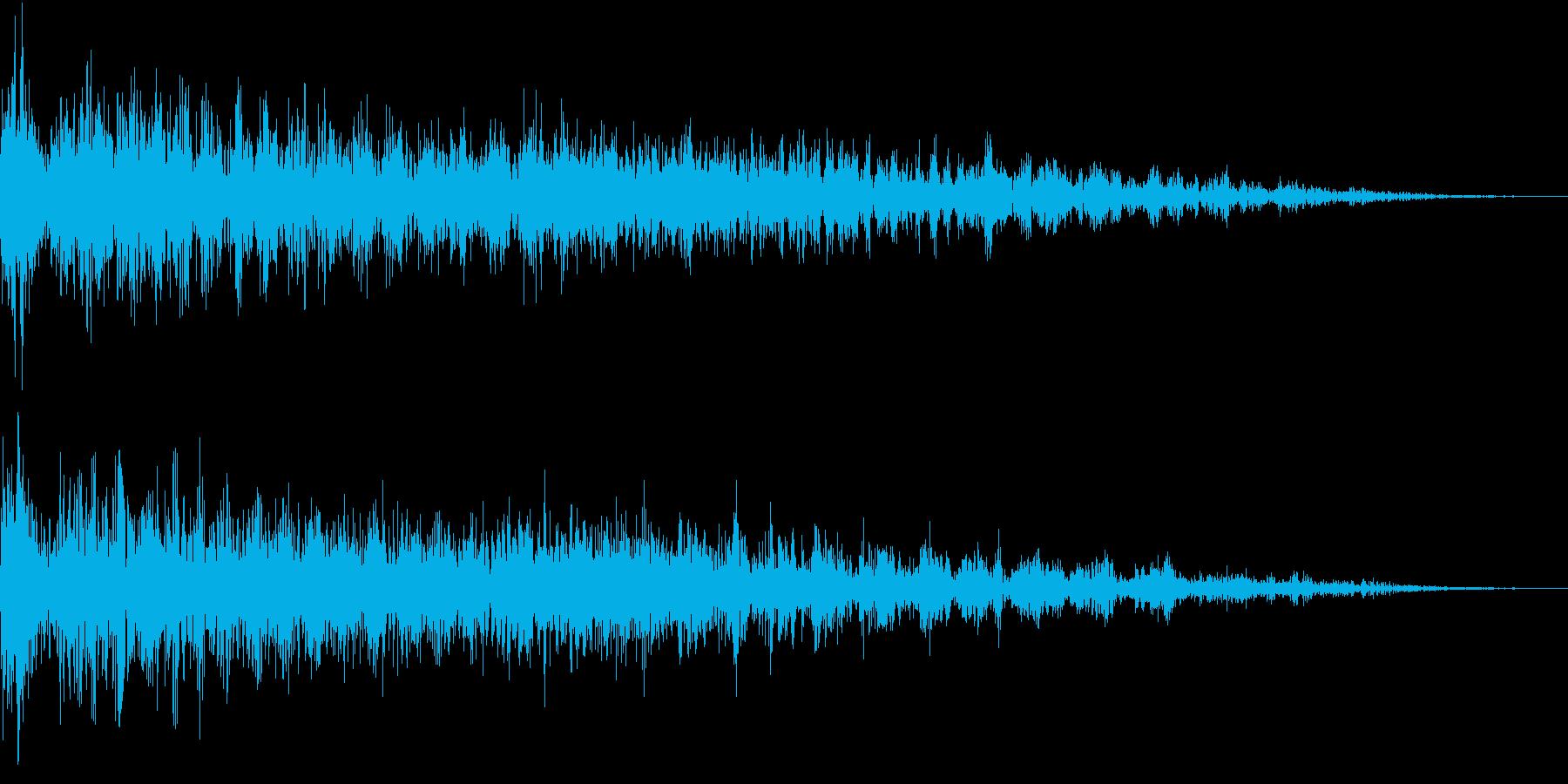 InvaderBuzz 発砲音 17の再生済みの波形