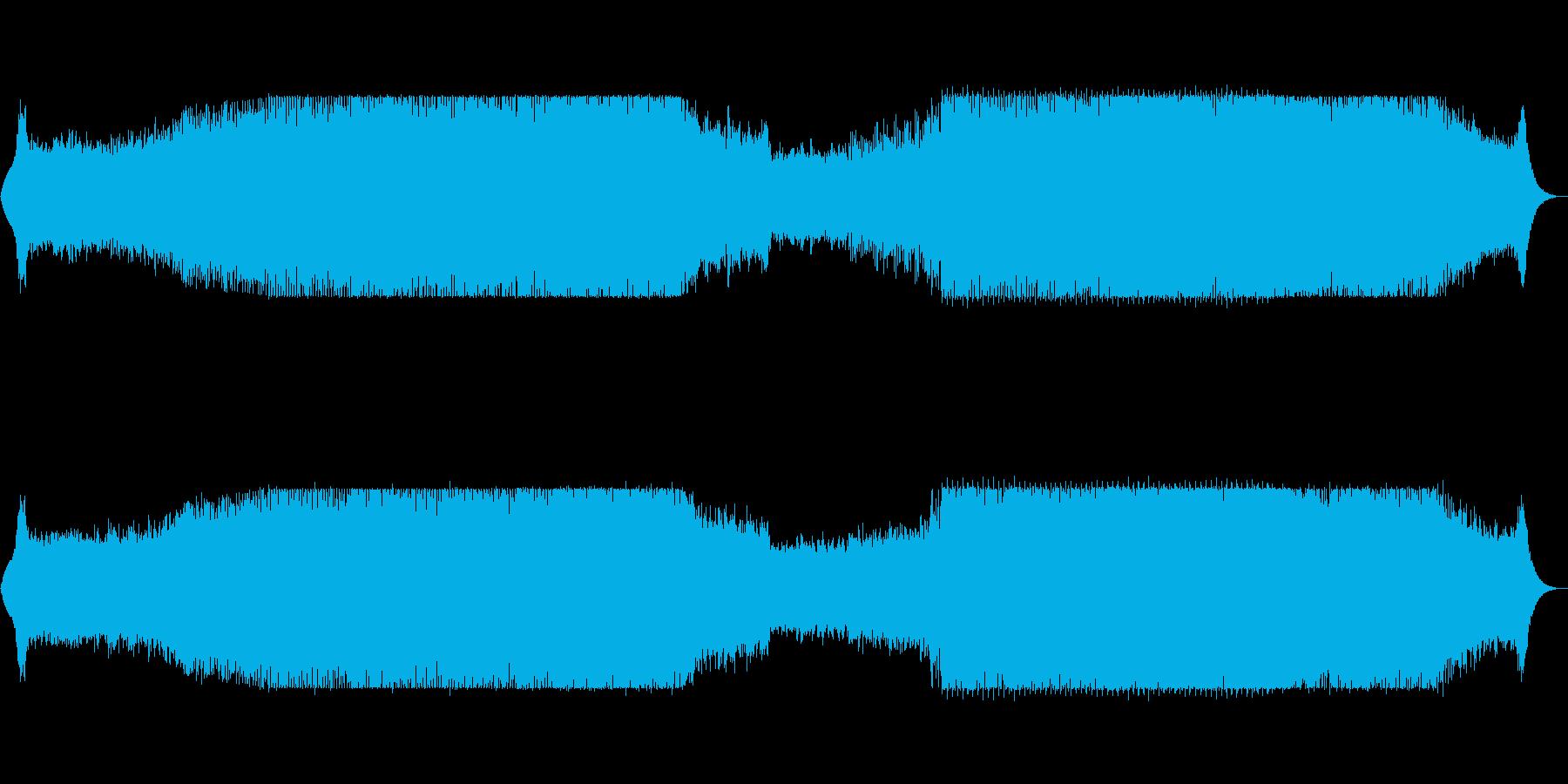 bpm127幻想的なストリングス+テクノの再生済みの波形