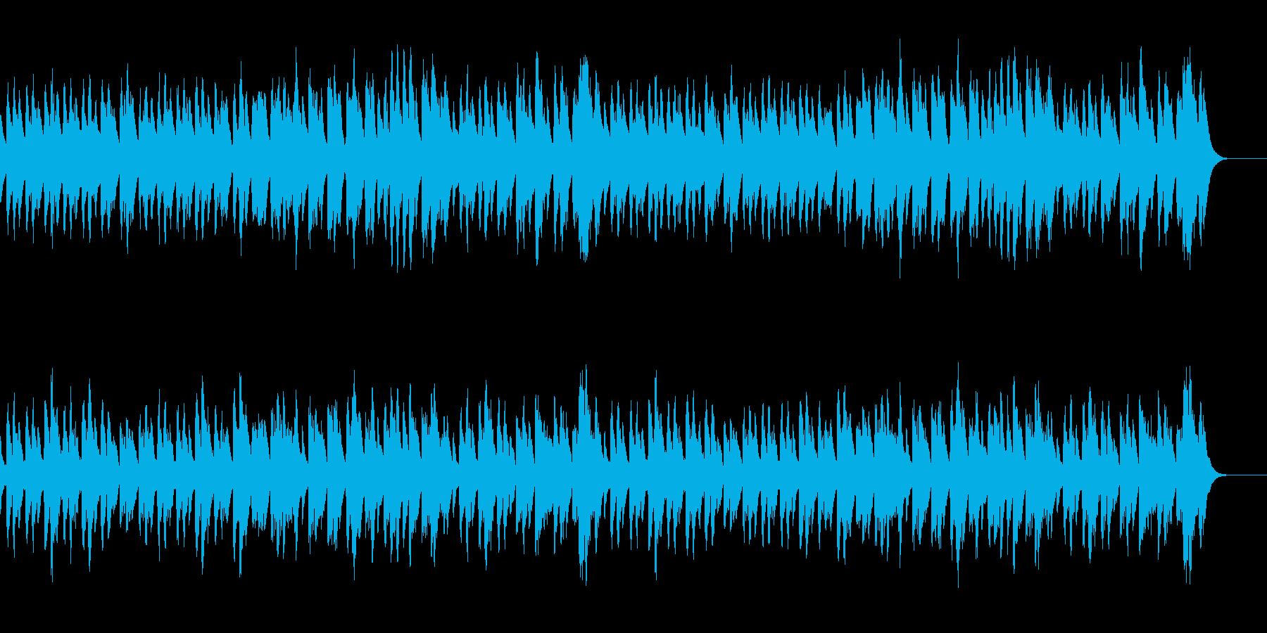 可愛らしいアレンジ/バッハ/メヌエットの再生済みの波形