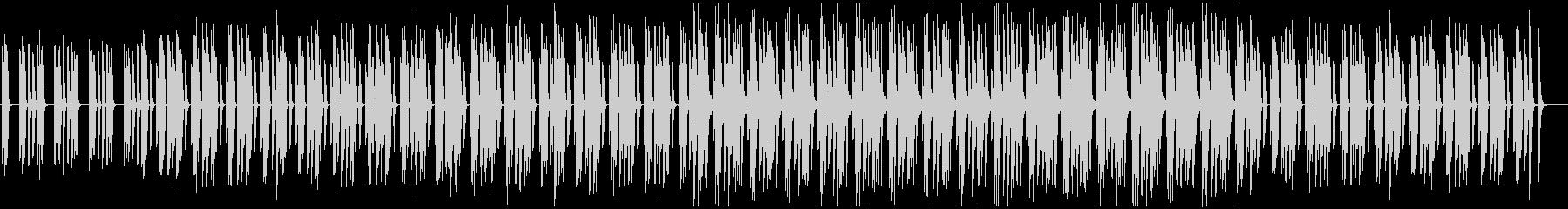 ミニマル・シンプル・ほのぼの・かわいいの未再生の波形