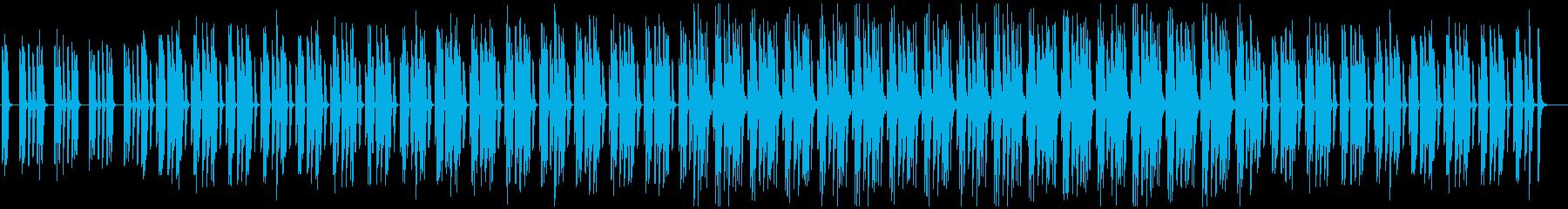 ミニマル・シンプル・ほのぼの・かわいいの再生済みの波形