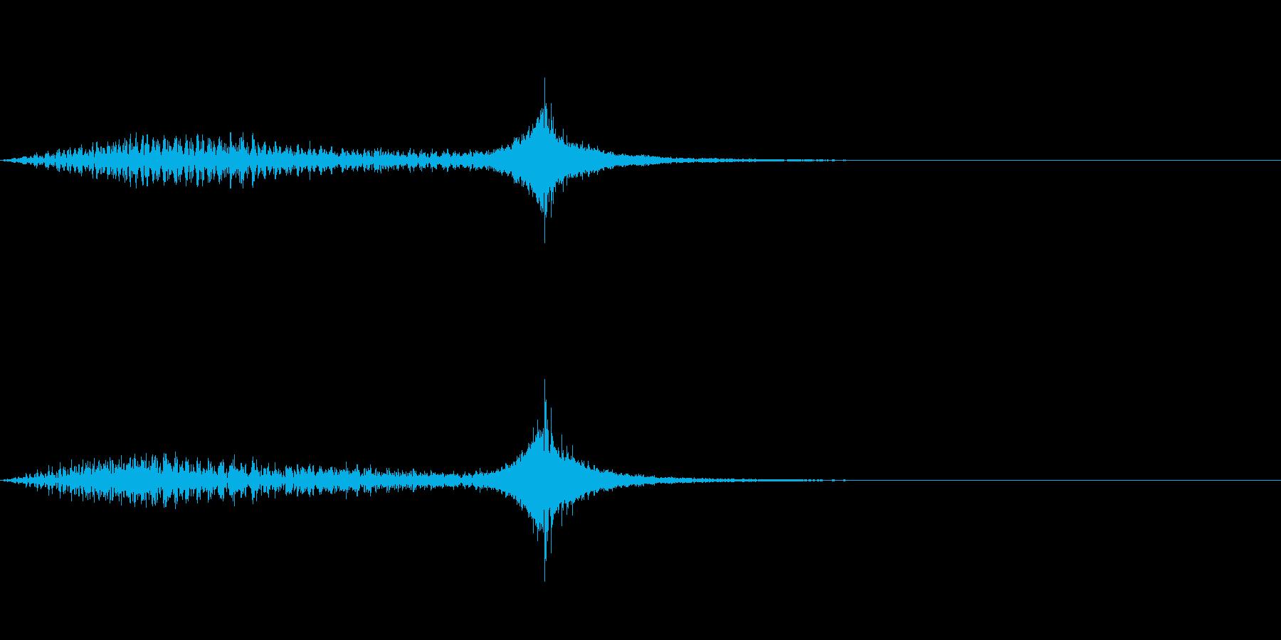 不穏/気配/気付く/金属音/サスペンスの再生済みの波形