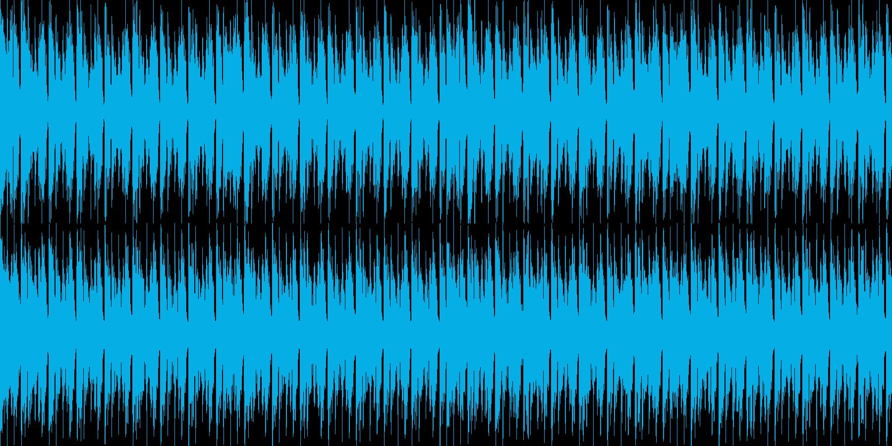アンビエント、進歩的な技術/ハウス...の再生済みの波形
