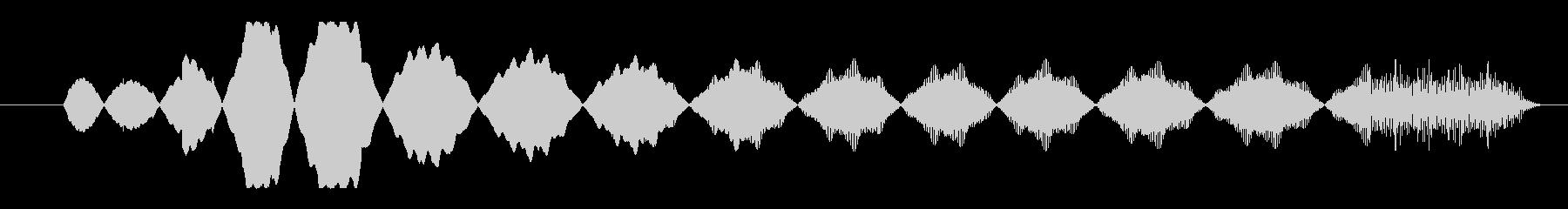 FX アクセス拒否01の未再生の波形